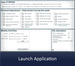 Launch Training Stress Levels Calculator