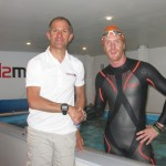 Mark's advice, mentoring and open water coaching helps Sean Conway swim the length of Britain