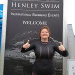 Clare was extremely pleased with her 29 min 10 seconds Henley Mile swim and with Mark's swim coaching