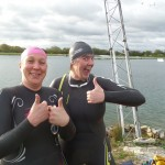 Both Beth & Anne improved their open water swimming with Iornmate Mark's open water coaching sessions and advice